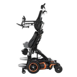 Offers maximum mobility and flexibility, by allowing user to go from seated to the upright position