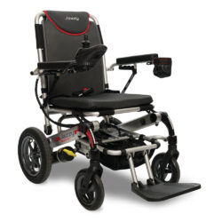 A motorized, battery operated version of manual wheelchairs