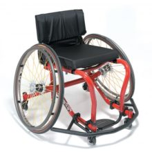 Efficient ergonomics and high performance technology offers a cahair for an active lifestyle